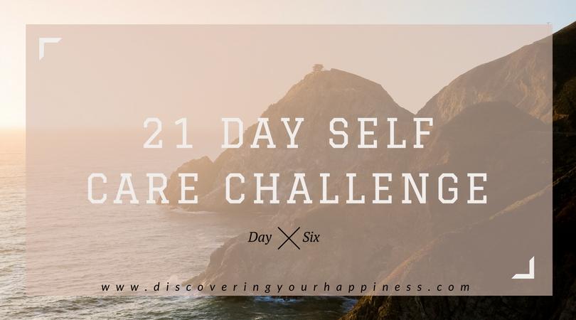 Self Care Challenge Day 6: Work/LifeBalance
