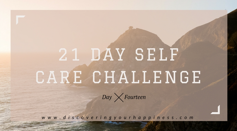 Self Care Challenge Day 14: Treat Day