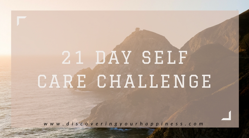 21 Day Self Care Challenge – Welcome