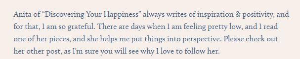 Kind Words 15