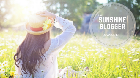 The Sunshine Blogger Award (1)