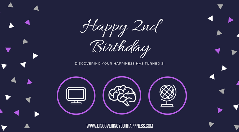DISCOVERING YOUR HAPPINESS TURNS 2
