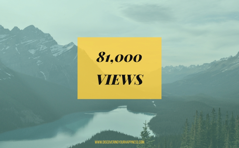 81,000 Views, Yay!