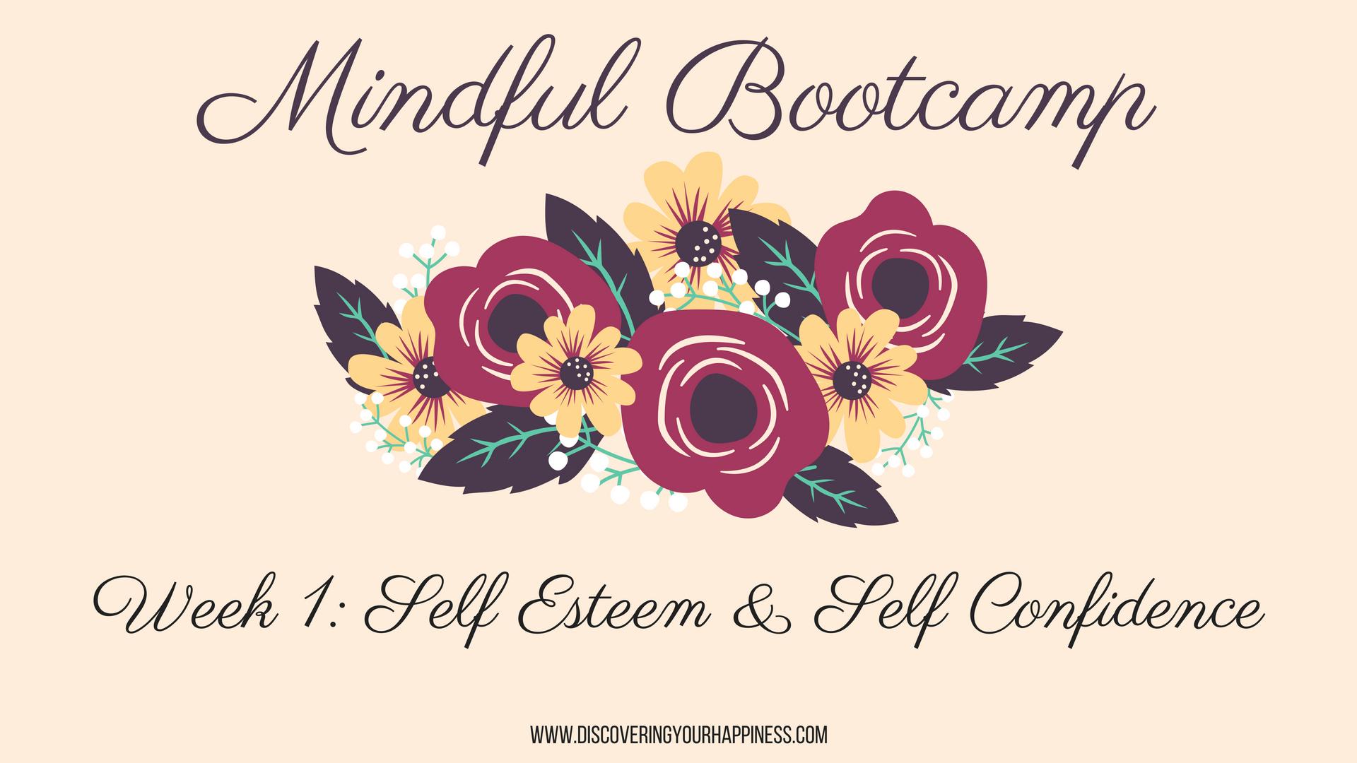 Self esteem boot camp