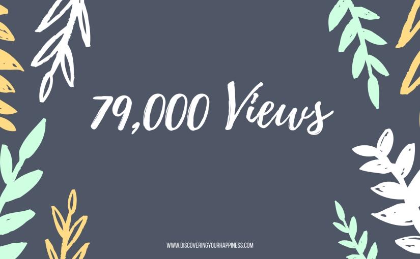 79,000 Views, Yay.